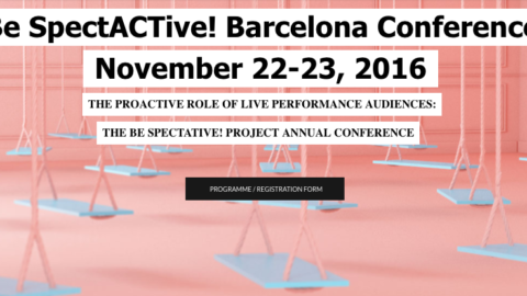 Image for: Be SpectACtive! Barcelona Conference